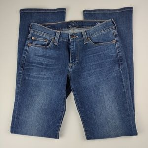 Lucky Brand Jeans Sweet Boot Orta Premium Size 2
